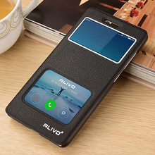 For Xiaomi redmi 4 pro Alivo Window PU leather Flip stand phone case cover for redmi 4A /4 visual windows book cases fundas