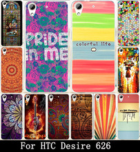 Chocolate Rain Girl Painted Cute Lovely Hard Covers Cases For HTC Desire 626 650 628 626w 626D 626G 626S Case Skin Shell Hood