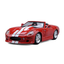 Maisto 1/18 Ford Shelby Series One Alloy Diecast Model Car Convertible Racing Car Models Collections With Box(China)
