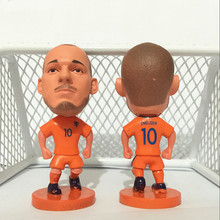Soccerwe Stand 10 Sneijder Soccer Doll ( Netherlands 2017 ) Orange(China)