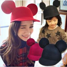 2017 Cute Big Ears Snapback Hat For Women Kids  Female Hip Hop Baseball Cap Children Girls Sun Hat