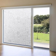 Top Grade Window Film Self Adhesive Decorative Frosted Etched Opaque Explosion-Proof Privacy Sticker Size 45*100cm