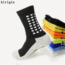High Quality Brand New Anti Slip Soccer Socks Cotton Football Socks Men Cycling Socks(China)