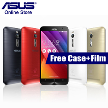 Original Asus ZenFone 2 ZE551ML 5.5 Inch Smartphone 2GB RAM 16GB ROM 4G LTE Android 5.0 Quad Core Intel 1.8GHz NFC Mobile Phone(China)