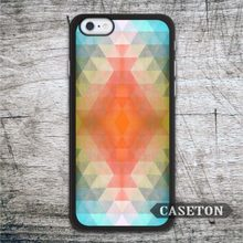 Blue Orange Geometric font b Case b font For font b iPhone b font font b