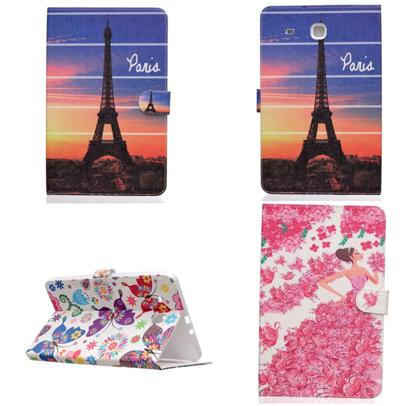 New PU Leather with TPU Back tablet PC case  protective for 9.6 Samsung galaxy Tab E 9.6 inch T560 T561 stand cover skin-HX<br><br>Aliexpress