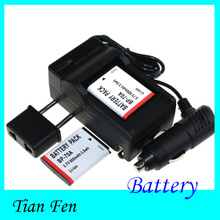 Hot Sale 2pcsBattery+Charger BP-70A BP 70A BP70A Rechargeable Li ion Battery For Samsung PL80 ES70 SL50 SL600