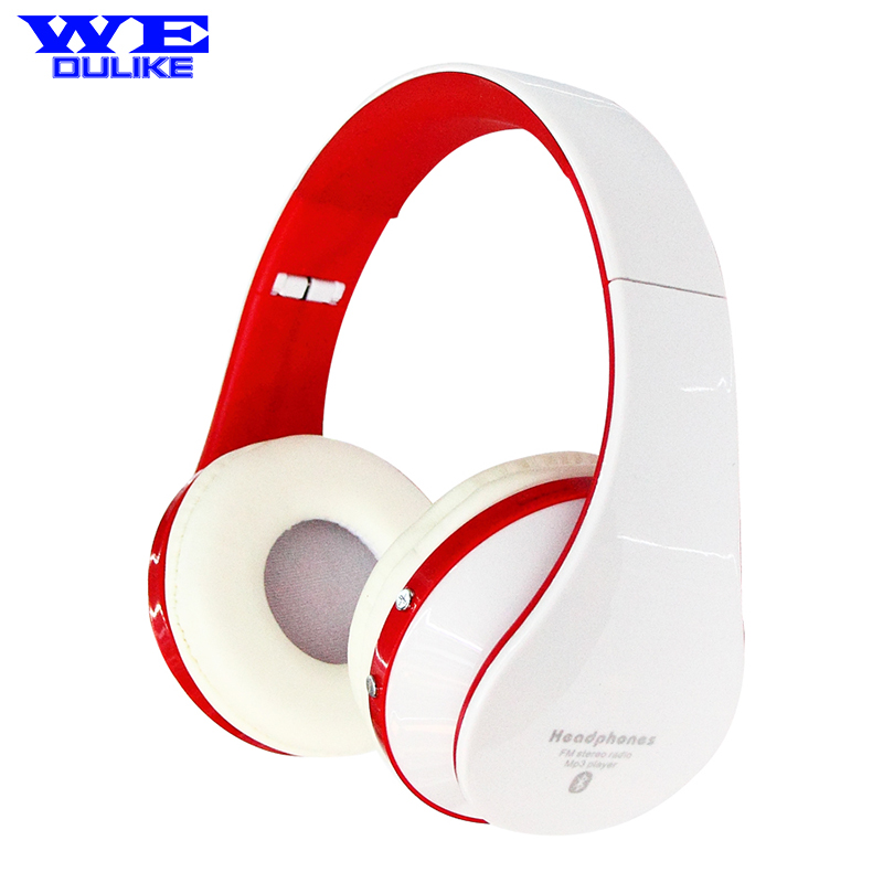 EB203 Wireless Bluetooth Headphones Portable Earphone for Iphone Samsung Xiaomi Stereo Headset Support SD Card+FM Radio<br>