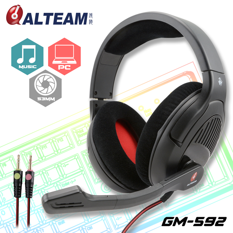 HA072 ALTEAM GM-592 hot item Games e-sports headphones headset headphones head-mounted enthusiasts speech computer headset<br><br>Aliexpress