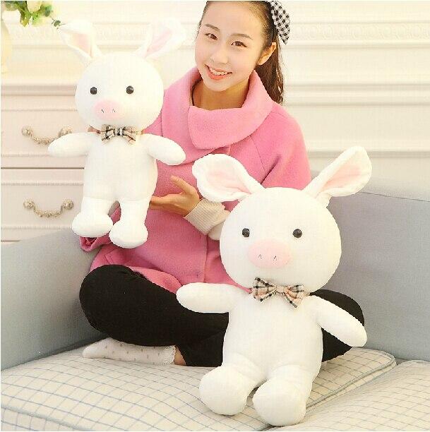 Hot Sale 50cm Popular Plush Toy Tuai ji tao gi Pig Rabbit Doll Stuffed Animal kawaii Doll For Girl Free Shipping<br><br>Aliexpress
