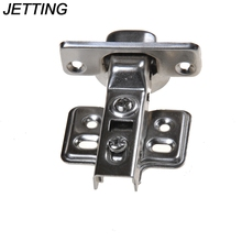 JETTING 1PCS 35mm KITCHEN CABINET CUPBOARD WARDROBE STANDARD HINGES FLUSH DOOR Hot