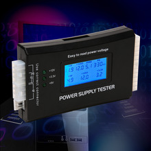Plastic Digital LCD Power Supply Tester Computer 20/24 Pin check quick  Power Supply Tester Support 4/8/24/ATX 20 Pin Interface