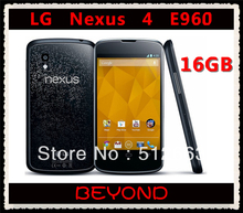 LG Nexus 4 E960 Original Unlocked GSM 3G Android WIFI GPS 4.7'' 8MP 16GB Quad-core E960 cell phone dropshipping(China)