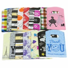 50PCS Wholesale Lot 15X9CM Pretty Random Color Plastic Gift Shopping Candy Bag