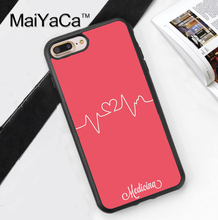 Nurse Medical Medicine Health Heart Soft Rubber Phone Case Coque For iPhone 6 6S Plus 7 7 Plus 5 5S 5C SE 4 4S Cover Skin Shell