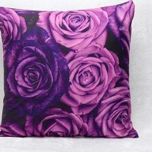 New Design Hot Fashion Square Violet Short Plush Seat Pillow Furnishing Cushions Home Sofa Office Soft Free Shipping