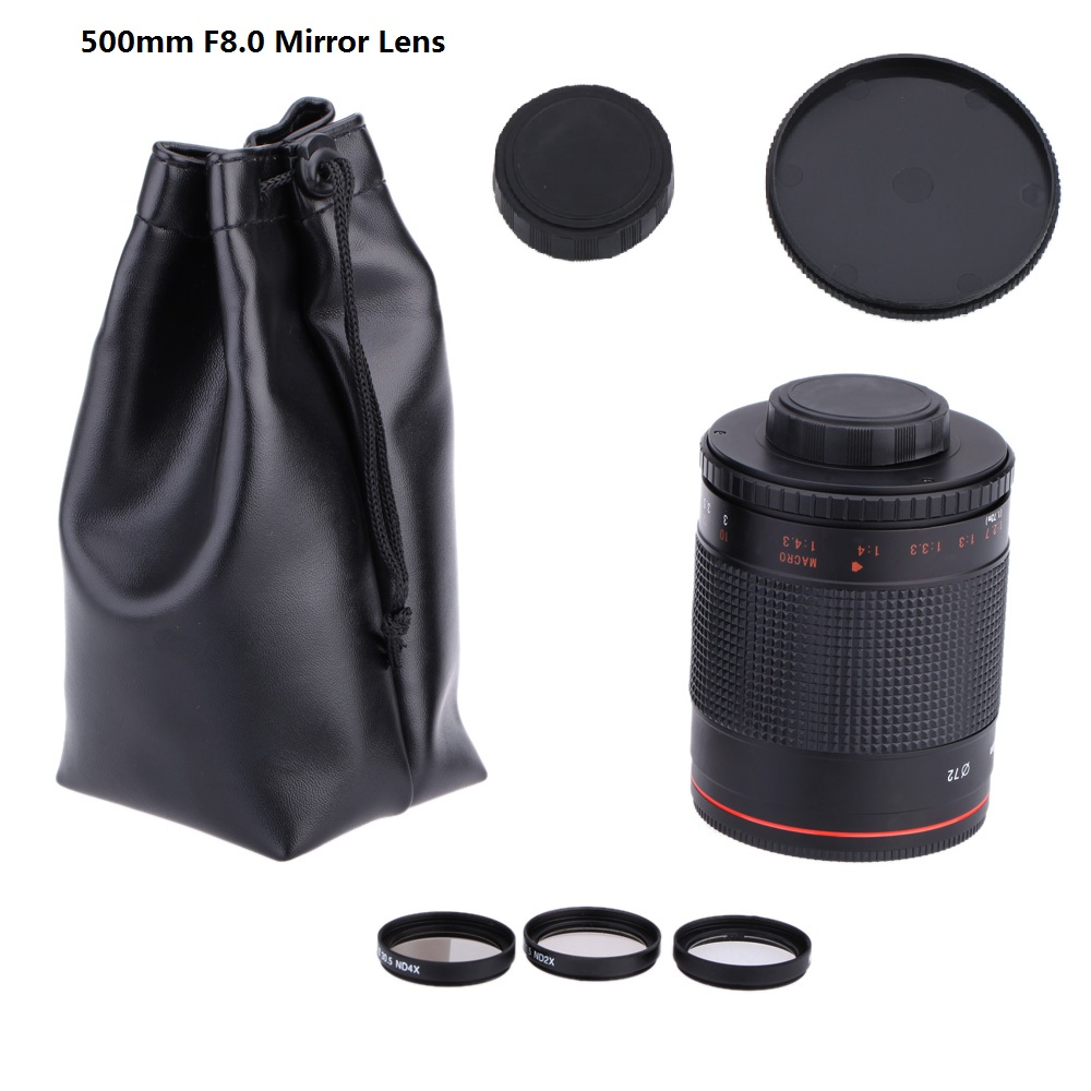 500mm-f-8-0-Camera-Telephoto-Mirror-Lens-T2-Mount-Adapter-Ring-for-Canon-Nikon-Pentax