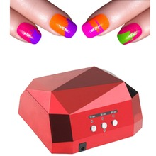 36W Auto UV Lamp LED Ultraviolet Lamp UV Nail Dryer Diamond Shaped Nail Lamp CCFL Curing for UV Gel Nails Polish Nail Art Tools
