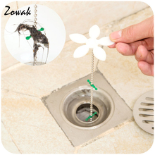 Shower Drain Hair Catcher Stopper Clog Sink Strainer Flower Kitchen Bathroom Remover Cleaning Protector Filter Strap Pipe Hook