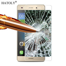 2PCS Screen Protector Glass Huawei P8 Lite Tempered Glass For Huawei P8 Lite Glass P8 Mini Anti-scratch Tempered Film HATOLY #