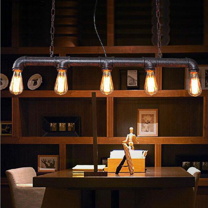 Vintage dining room lighting
