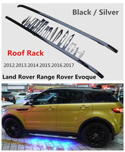 Car Roof Rack Luggage Racks For Land Rover Range Rover Evoque 2012.2013.2014.2015.2016.2017 High Quality New Aluminium(China)