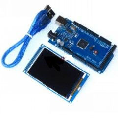 Free shipping! 3.2 inch TFT LCD screen module Ultra HD 320X480 for Arduino + MEGA 2560 R3 Board with usb cable<br><br>Aliexpress