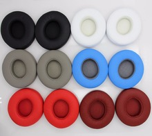 1 Pair Replacement Solo 2.0 Earpad Ear Pads Cushion Cover For Beats By Dr Dre Solo 2 Solo 2.0 wired Headphone