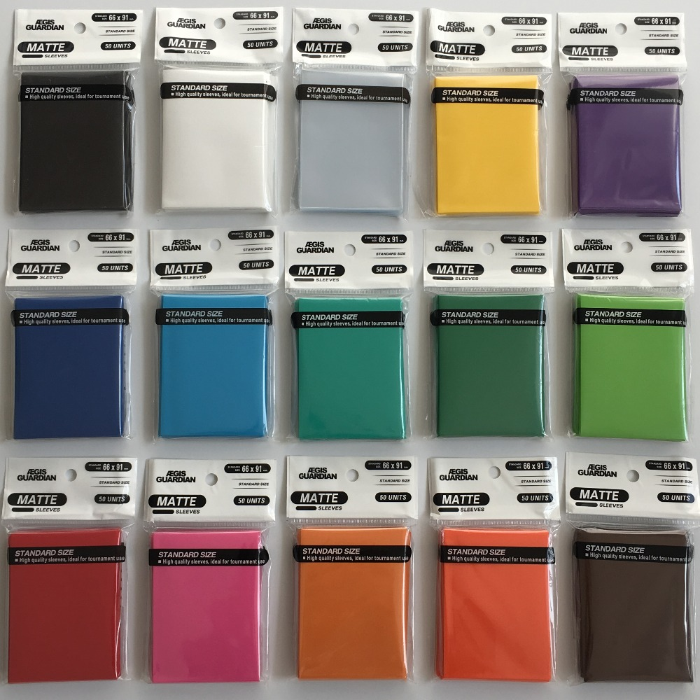 Pack 50 Ultra Pro LILAC Pro-Matte MTG CCG Pokemon Gaming Card Sleeves