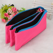 3 Layers Large Capacity Zipper Cosmetic bag student pencil pen bags storage case with zipper best gift for students kids