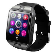 Bluetooth Smart Watch Q18 W/Camera Facebook Whatsapp Twitter Support SIM TF Card For IOS Android Phone pk dz09 christmas gift(China)