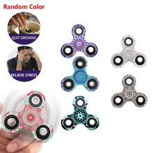 Buy Spinner Fidget Toy Plastic EDC Hand Spinner Autism ADHD Rotation Time Long Anti Stress Toys Free for $4.83 in AliExpress store