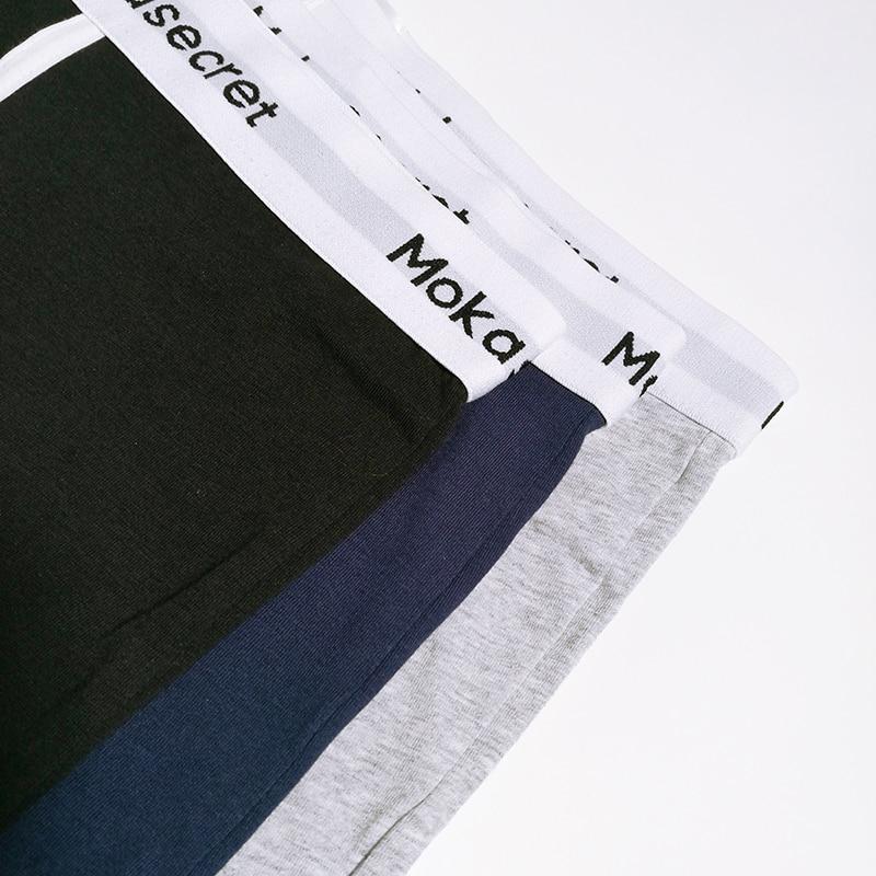 Brands Men Underwear Cotton Boxers 3pcslot Male Panties Boxer Shorts Calvin Calzoncillos Hombre Cueca Underpants Boxers Trunks05