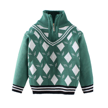 Boys Turtleneck Sweater children zip-up sweaters kids boys Spring Autumn sweater kids sweaters boys