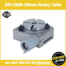 S/N:10094 100mm Rotary Table/SIEG U1/SU1/SX0/X2/X2L/SX2/SX2L/SXP/X3/X3L/SX3/SX3L/M1 Rotate work table(China)