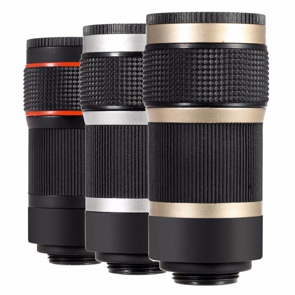12in1 Camera Lens Kits 8x Zoom Telephoto Lentes Fisheye Wide Angle Macro Lens For iPhone 5 5C 5S SE 6 6S 7 Plus 8 X Phone Lenses 7
