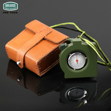62 Type Compass Outdoor Military Compass with Directional Genuine Cow Leather Compass Military Army Gps Randonnee Kompass Boot
