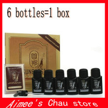 Factory Price 10 boxes per lot DHL100% Original real result New sunburst hair growth hair treatment / 50ml*6 bottles