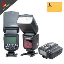 Godox New Flash ! 2X Godox TT685C 2.4G HSS E-TTL GN60 Wireless Flashes + X1 TTL Trigger for Canon(China)