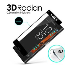 9H Full Cover 3D Tempered Glass For Sony Xperia X Dual F5122 XP XZ XZs XA Ultra F3113 Screen Protector Explosion-Proof Sklo
