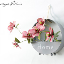 Simulation Christmas rose flower European style artificial passiflora flower type wedding decoration for home party hotel 1pcs(China)
