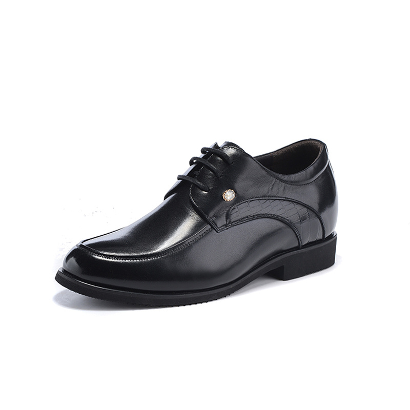 Zmp6662 New 2016 Style Oxford Shoes For Men Dress Shoes Leather Office Men Flats Shoes Height Increasing Zapatos Hombre<br><br>Aliexpress