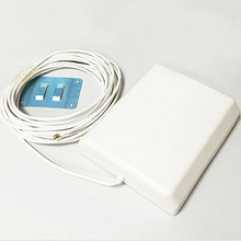 3G GSM panel antenna 12dbi high gain signal booster with extension cable SMA connector wholesale price gsm 3g antenna