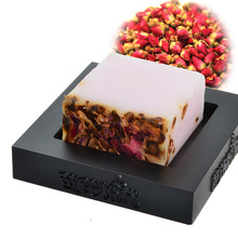 2017 New Brand Hand Made Soap Deep Cleaning Soft Foam Sweet Rose Flower Whitening Face Cleaning Handmade Soap(China)