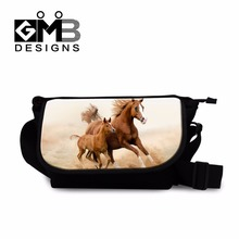 Cool Horse Messenger Bags for Boys Crossbody Satchel Bags for men Lightweight Side Bag for Women Casual Over The Shoulder Bags
