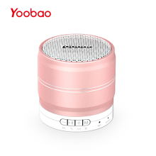 Yoobao 001 Mini Bluetooth Wireless Speaker Portable Sound System 3D Stereo Music Box with TF USB FM Radio Party Speaker(China)