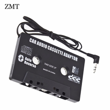 Universal 3.5 mm AUX Audio Adapter Car Cassette Tape For Mobile Phone MP3/4 CD MD PC to Car Jack Cable For Magnetic Tape Player(China)