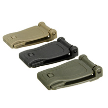 1pcs Tactical Molle Strap Backpack Bag Webbing Connecting Buckle Clip Outdoor Tools for width under 30mm webbing
