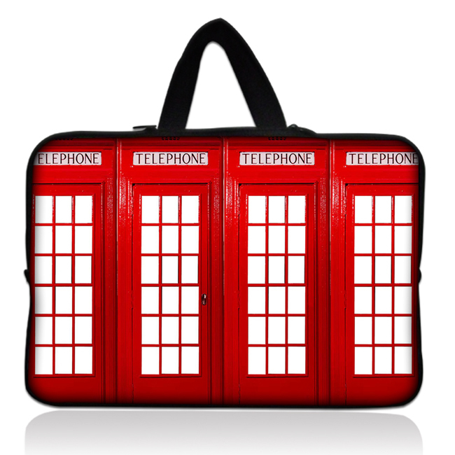 15 Red Telephone Booth Neoprene Laptop Netbook Soft Case Sleeve Bag Cover+Hide Handle For 15.6 HP Pavilion G6 DV6 Toshiba ACER<br><br>Aliexpress