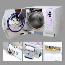 Class B 23L Vacuum Steam Dental Autoclave Sterilizer WITH PRINTER FREE SHIPPING